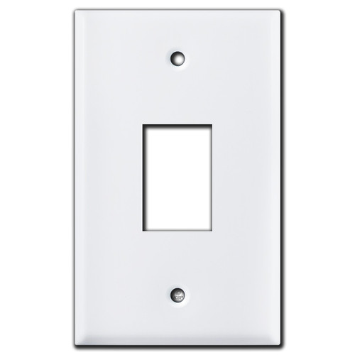 Retracting Awning Mini Rocker Switch Covers - White
