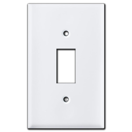 Somfy Retractable Window Covering Switch Plate - White