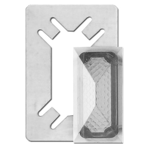 Clear Indicator Jewels for Toggle Switch Wallplate Covers