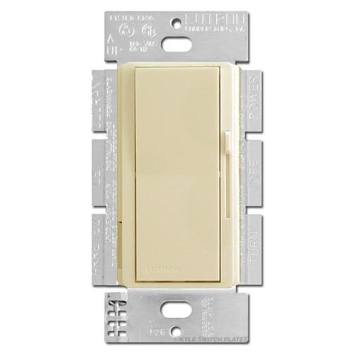 Ivory Decor Dimmer Switch - Rocker Preset & Glow 600W