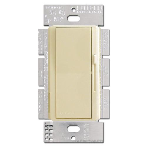 Ivory 3 Way Decorator Dimmer Switch - Preset & Light 600W