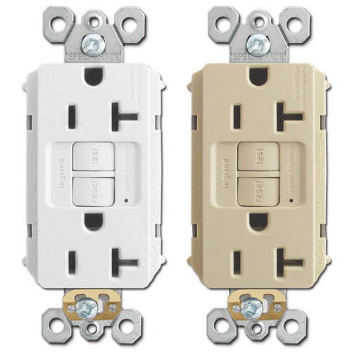 GFCI Electrical Outlets 20A P&S 2097