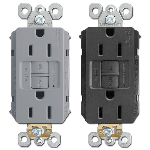 GFCI Receptacle 15A Self Test P&S