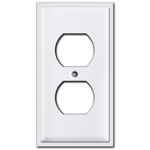 "2.5"" Narrow Outlet Cover Plates"