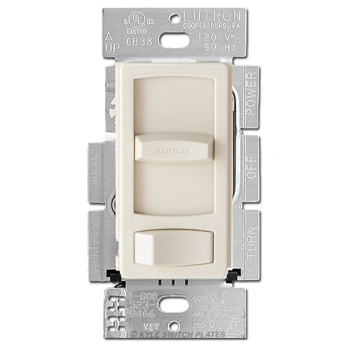 Dimmers for CFL LED Bulbs - Light Almond Lutron Skylark