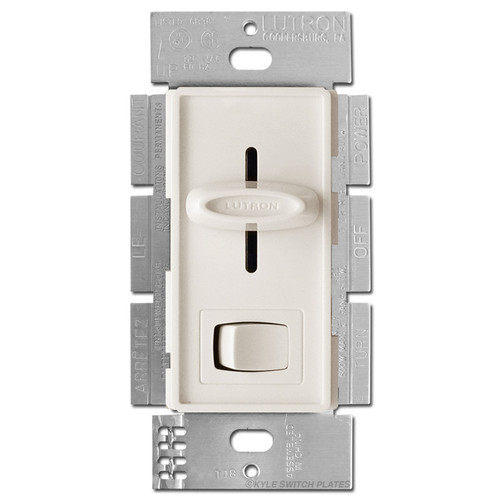 Light Almond 3-Way Fader Switch On-Off Button 600W