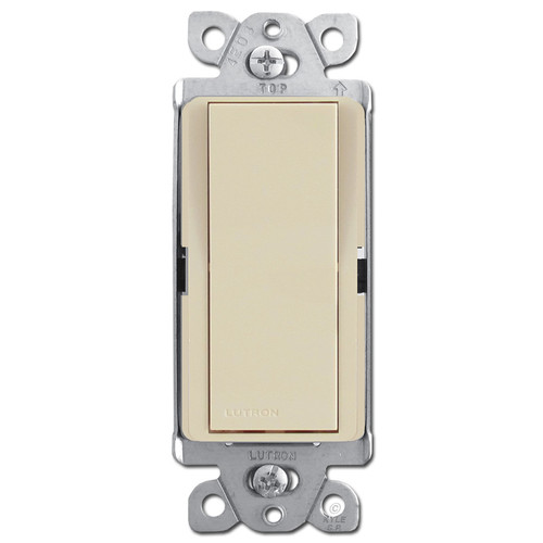 Lutron Decorator Rocker Switches - Ivory