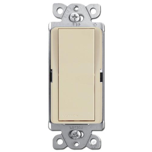 Decorator 3-Way Rocker Light Switches - Ivory