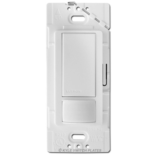 Occupancy Sensor Switch Lutron MS-OPS2 - White