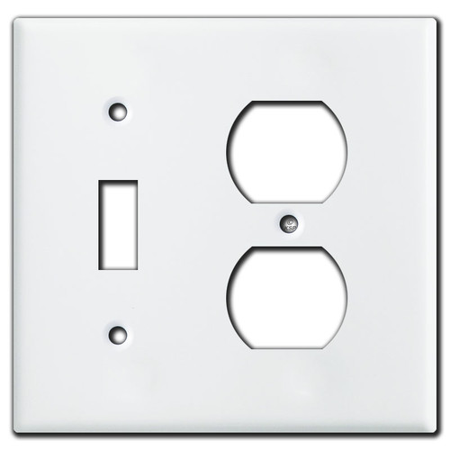 Tight-Space Wall Plates for Switch & Outlet