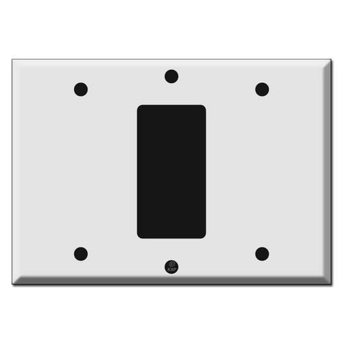 Blank Decora Blank Wall Switch Plate Covers