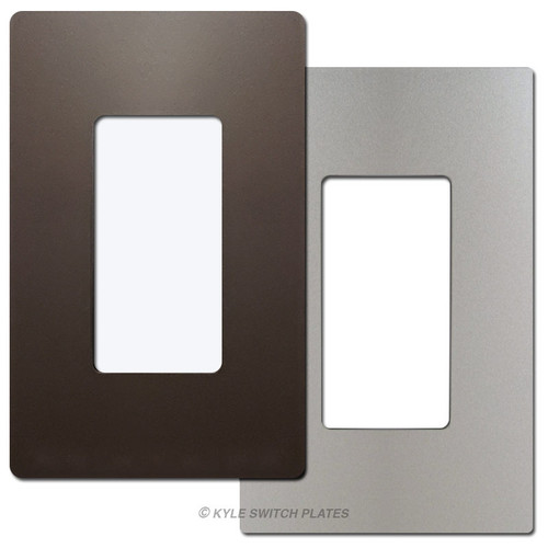 1 Decorator Metallic Screwless Wall Plate Cover - Legrand