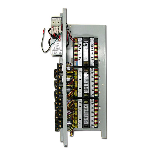 GE Low Voltage RR9 18 Pilot Light Relay LightSweep System (will be similar to the photo but with one additional module)