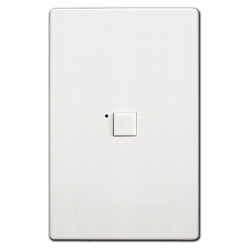 Touchplate Low Voltage 1 Switch LED Mystique - White