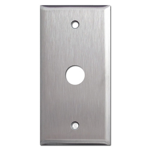 5/8'' Round Opening Wall Plate - Narrow Design