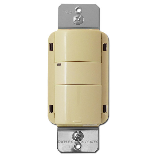 GE Low Voltage Passive Infrared Wall Switch Sensor - Ivory