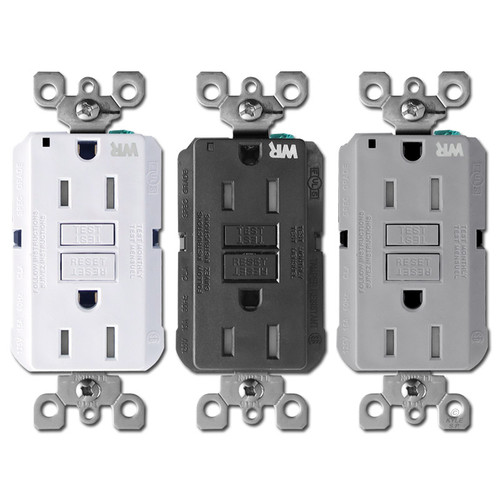 Outdoor GFCI Outlets - Leviton Decora 15A Tamper Resistant
