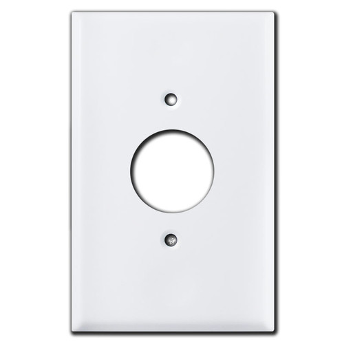Jumbo 220 Receptacle Cover Plates - White