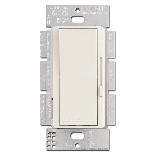ELV Dimmer Switch 300W Lutron Diva - Light Almond