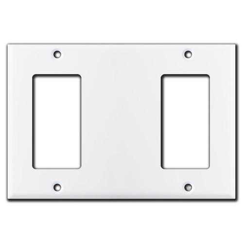 Rocker Blank Rocker Light Switch Cover - White