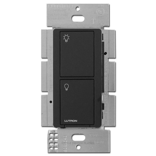 Caseta Multi-Location Electronic RF Neutral Switch Lutron Black