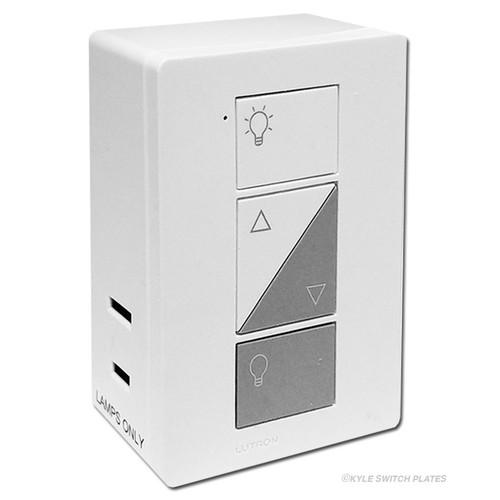 Lutron Caseta Wireless Smart Plug-In Lamp Dimmer White