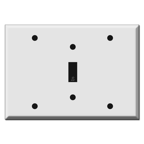 Blank Toggle Blank Light Switchplate Covers