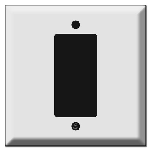 Deep Centered 1 Decora Rocker GFCI Wall Plate Covers