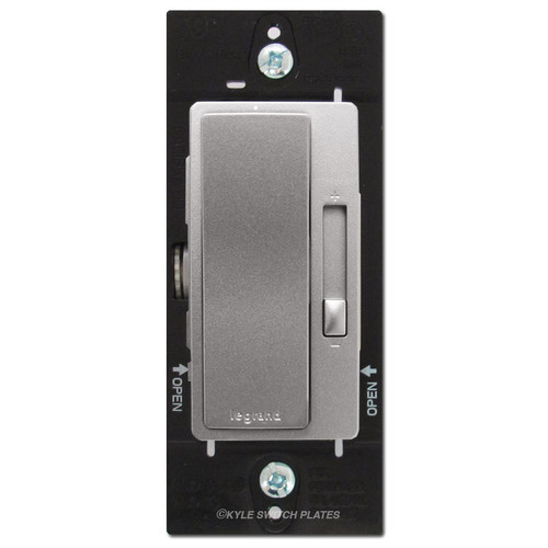 CFL LED Universal Light Dimmer Switch Legrand - Nickel