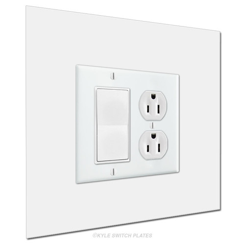 Wall Guard 8x8 Light Switch Cover 2-Gang Expander
