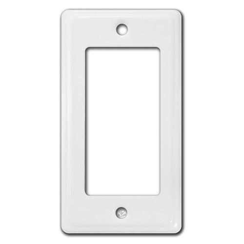 "Short Narrow 4"" X 2.25"" Rocker Decor Outlet Switch Plates"