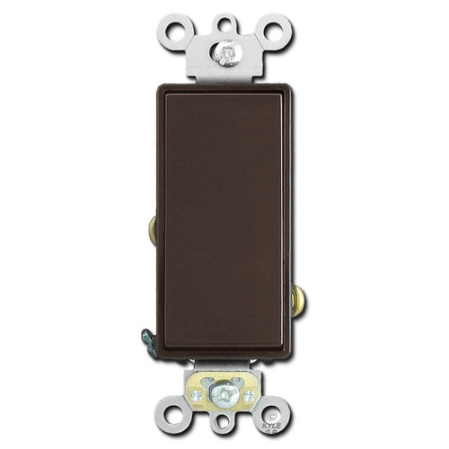 20A Decora Switch Spec Grade Leviton - Brown
