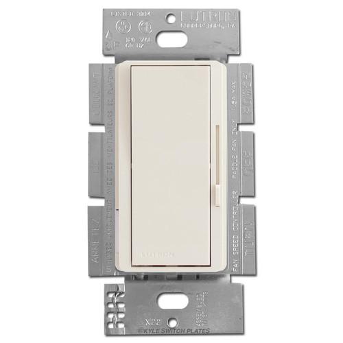 Fan Control Switch 3-Speed S/P or 3-Way - Light Almond
