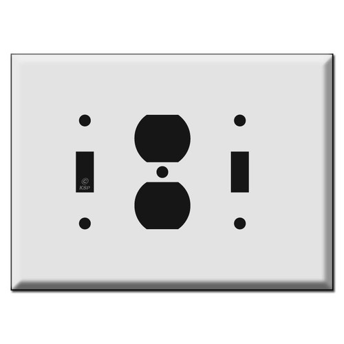 Oversized Toggle Outlet Toggle Wall Switch Plates