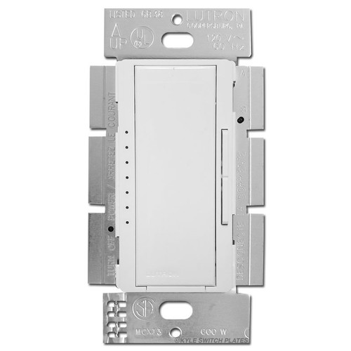 White Lutron Smart Dimmer Switch - Indicator Lights