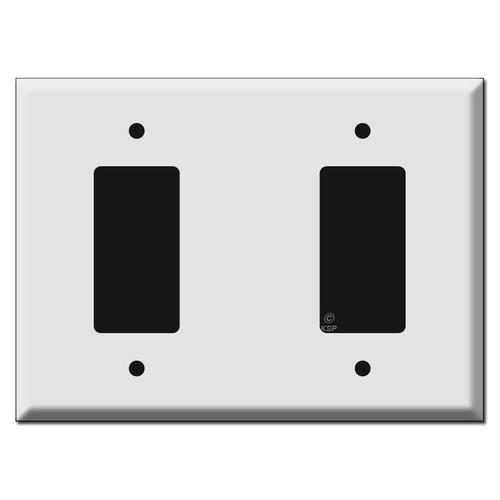 Oversized Rocker Blank Rocker Wall Switch Plate