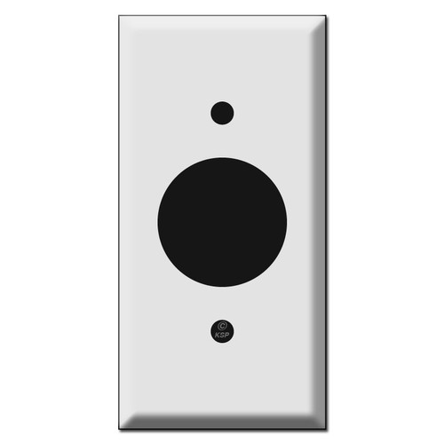 "2.25"" Narrow 1.4"" Single Outlet Cover Plates"