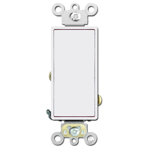 Decora Rocker Light Switch 20A Leviton - White