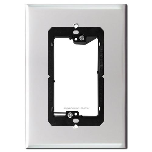 """6"""" Smart Doorbell Cover for Nutone Speaker - 4.5"""" Wide Screws"""