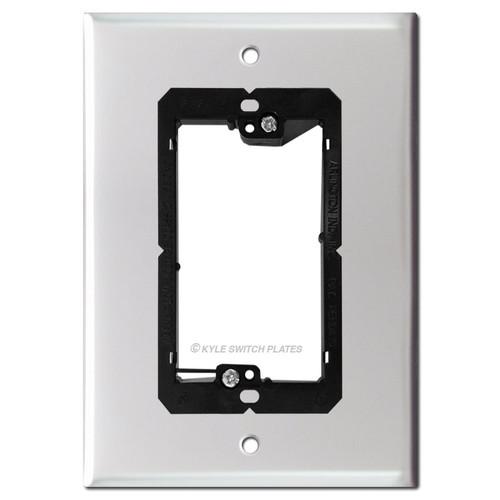 "6"" Video Doorbell Plate for Nutone Intercom Box - 5.25"" Screw Holes"