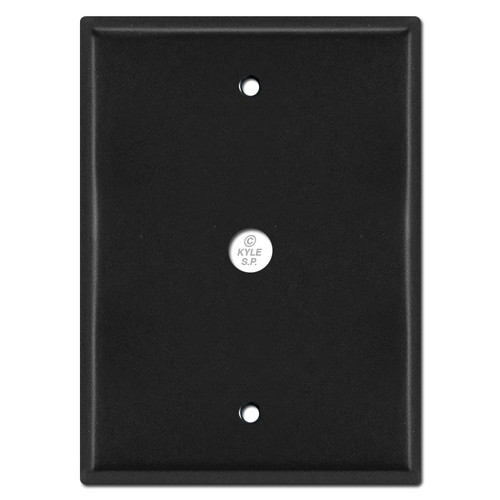 "Doorbell Wall Plate 7.5"" for Nutone Intercom Box 5.25"" Screws"