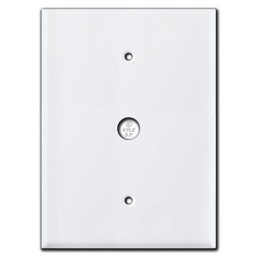 "Door Bell Wallplate for Nutone Intercom Box 4.5"" Screws 7.5"""