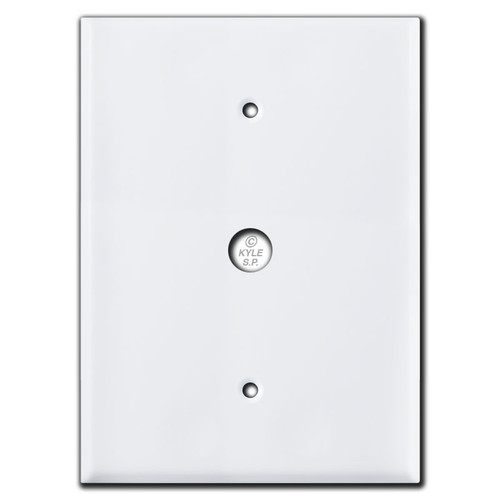 "Door Bell Wallplate for Nutone Intercom Box 4.5"" Screws 7.5"""