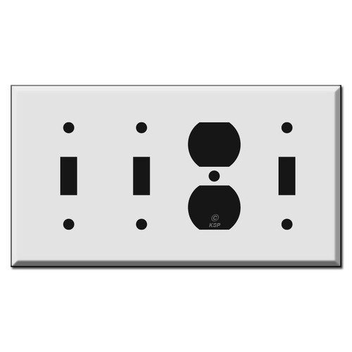 2 Toggle 1 Outlet 1 Toggle Switch Plate Covers