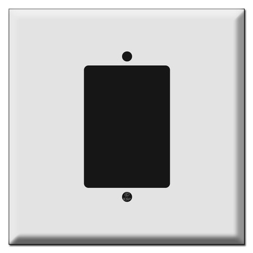 Oversized Extra Large Decor Switch Plate Covers - 2 Gang