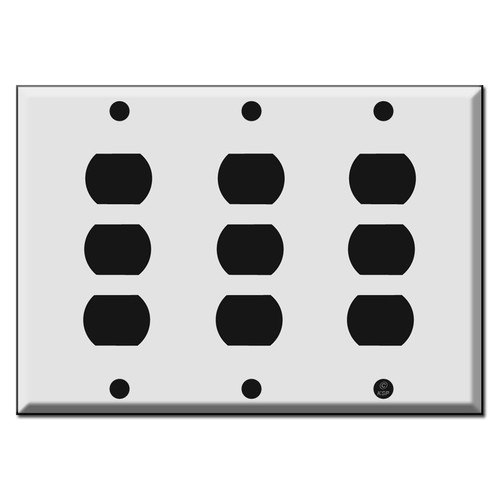 3-Gang 9 Switch Despard Wall Plate