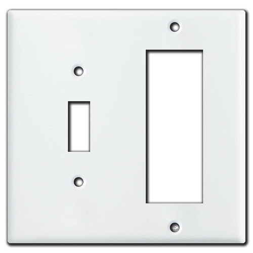Cover a Toggle Switch and Old Triplex Outlet