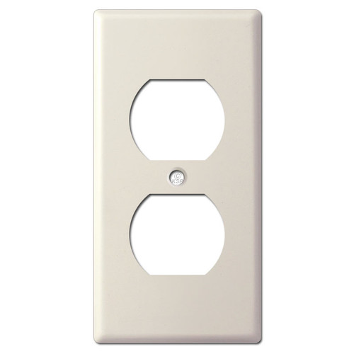 "2.25"" Skinny Undersized Outlet Cover Plate - Light Almond"