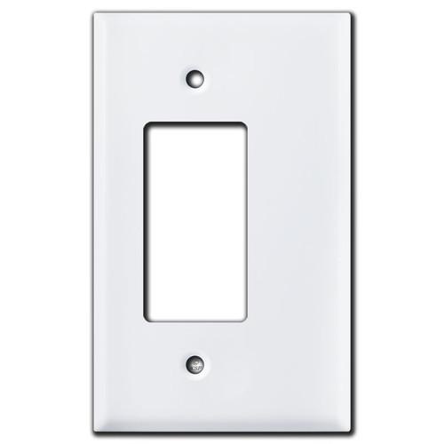 Offset Rocker Switch Plate Opening