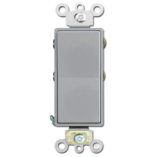 4-Way Decora Electrical Switch Leviton 20A - Gray